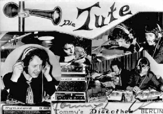 """""""Die Tute"""" Diskothek aus Berlin"""